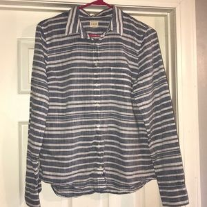 J.Crew Striped Button-down Shirt